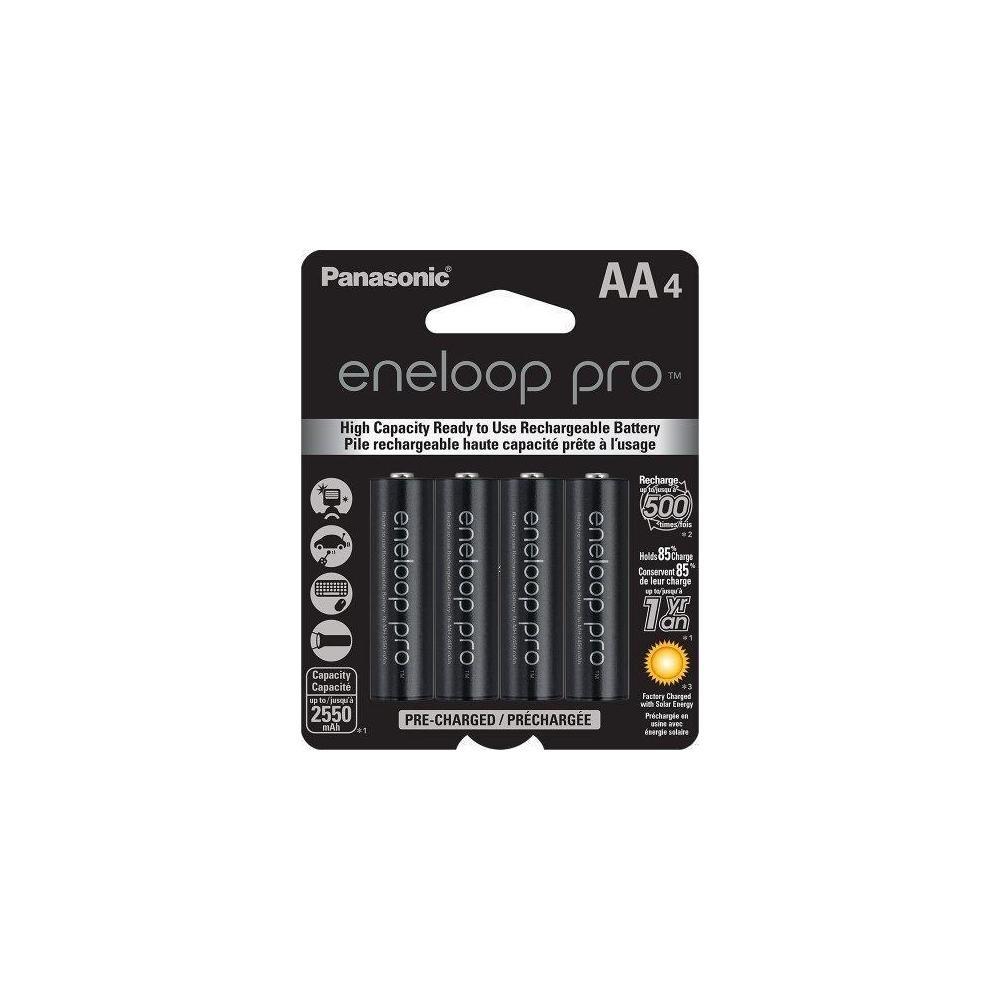 BK-3HCCA4BA - Panasonic Eneloop Pro Low Discharge AA 2550mA, 4pk