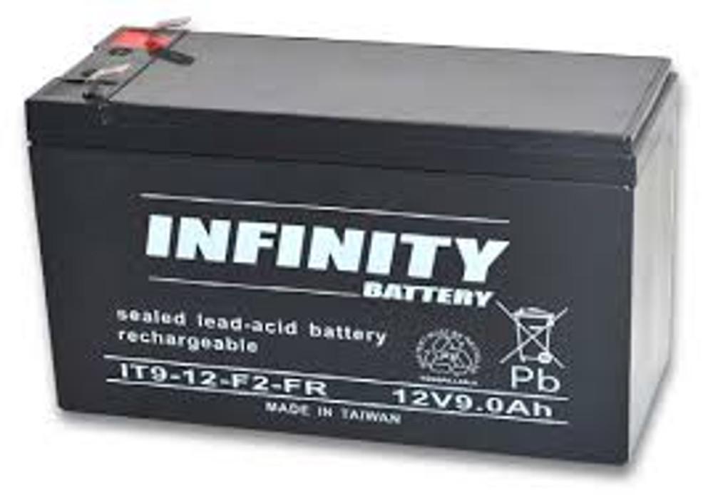 IT 9-12 F2 FR - GS Infinity 12volt - 9.0Ah - F2
