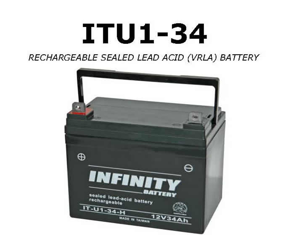 IT U1-34 - GS Infinity 12volt - 34Ah - U1