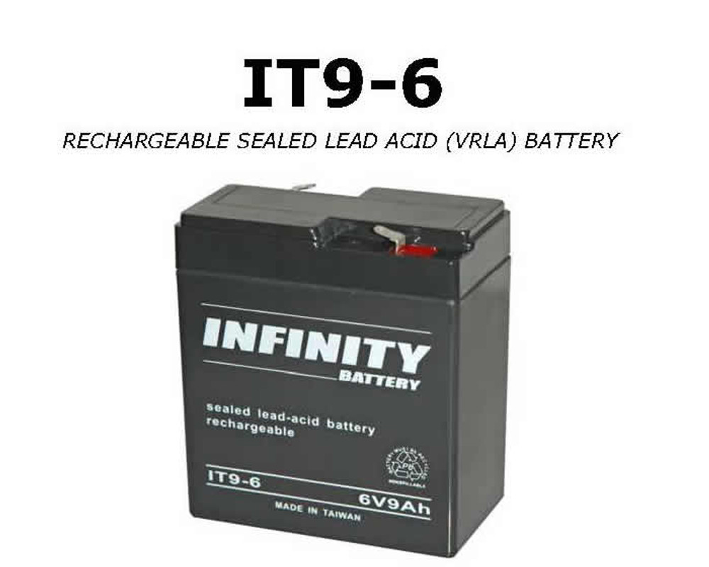 IT 9-6 F1 - GS Infinity 6volt - 9Ah - F1
