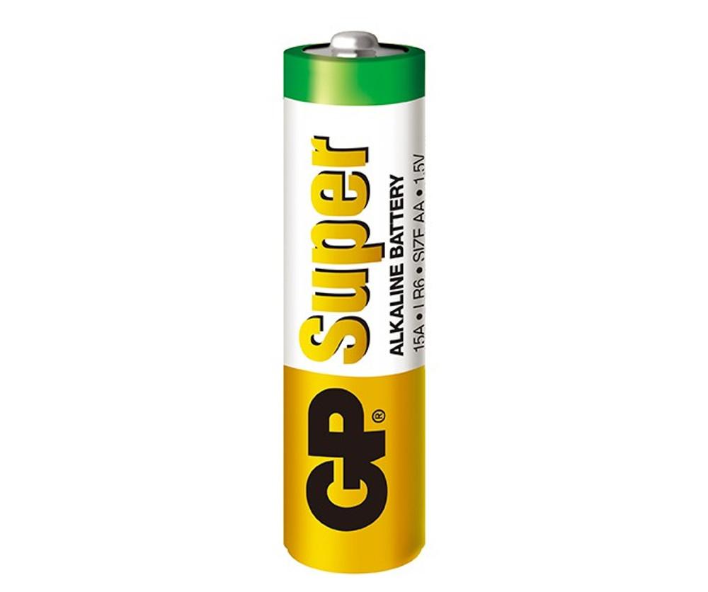 GP15A-C4/2U4  - GP Super Alkaline AA (4 pack)