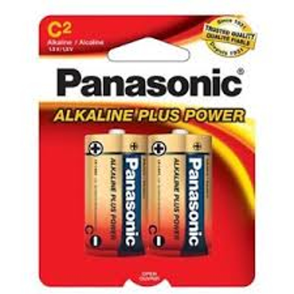 AM2PA2B - Panasonic Alkaline Plus C (2 pack)