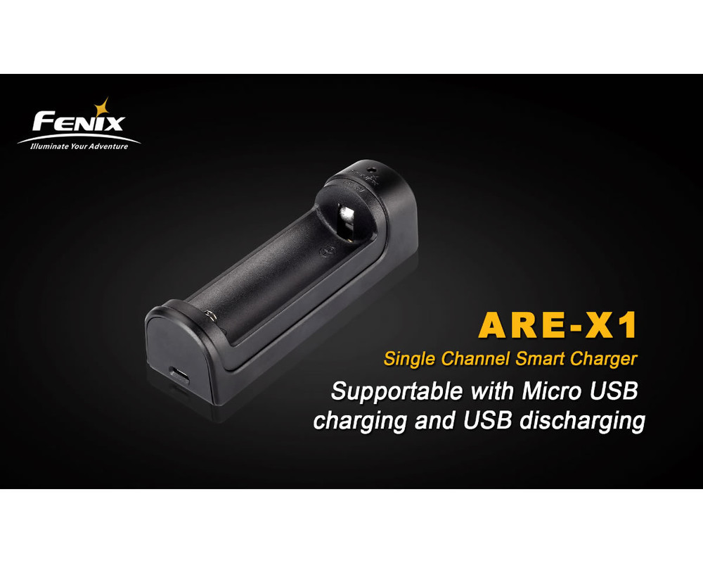 ARE-X1 - Fenix Single-Bay Smart Charger