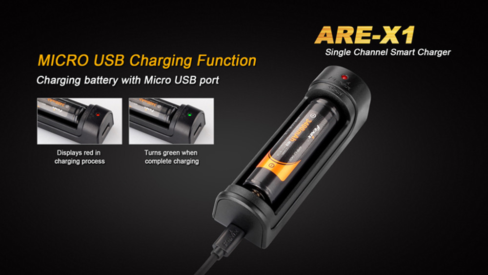 Fenix - ARE-X1 Single-Bay Smart Charger