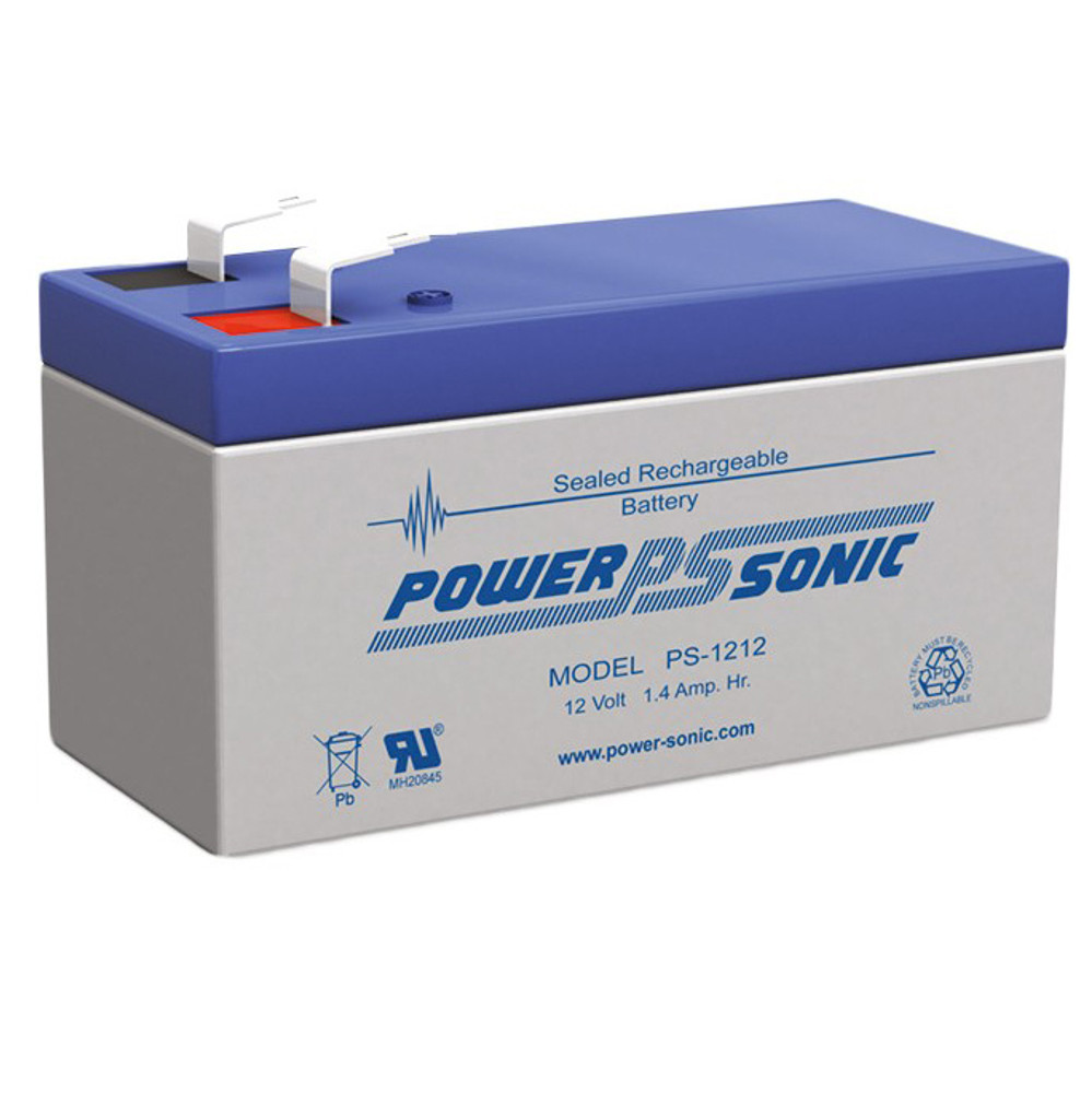 PS-1212-F1 - Powersonic 12 Volt - 1.4Ah - F1