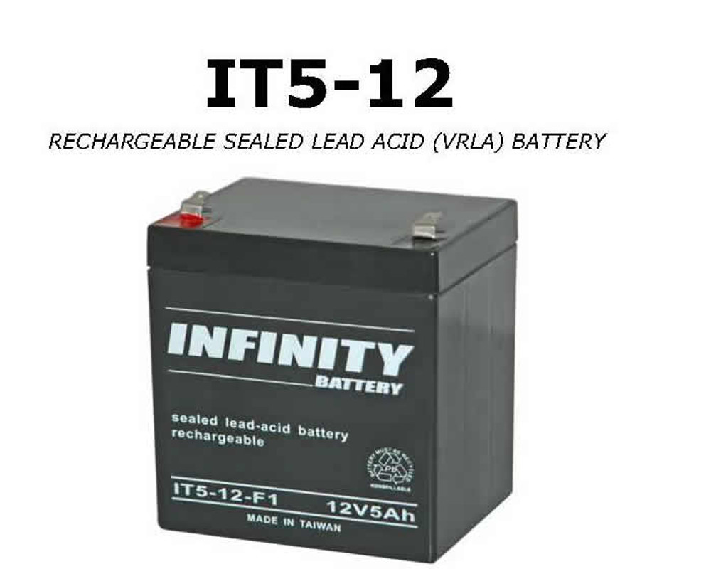IT 5-12 F1 - GS Infinity 12volt - 5Ah - F1
