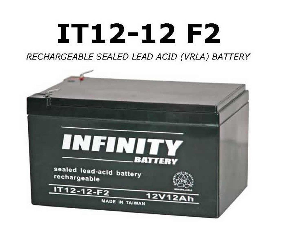 IT 12-12 F2 - GS Infinity 12volt - 12Ah - F2