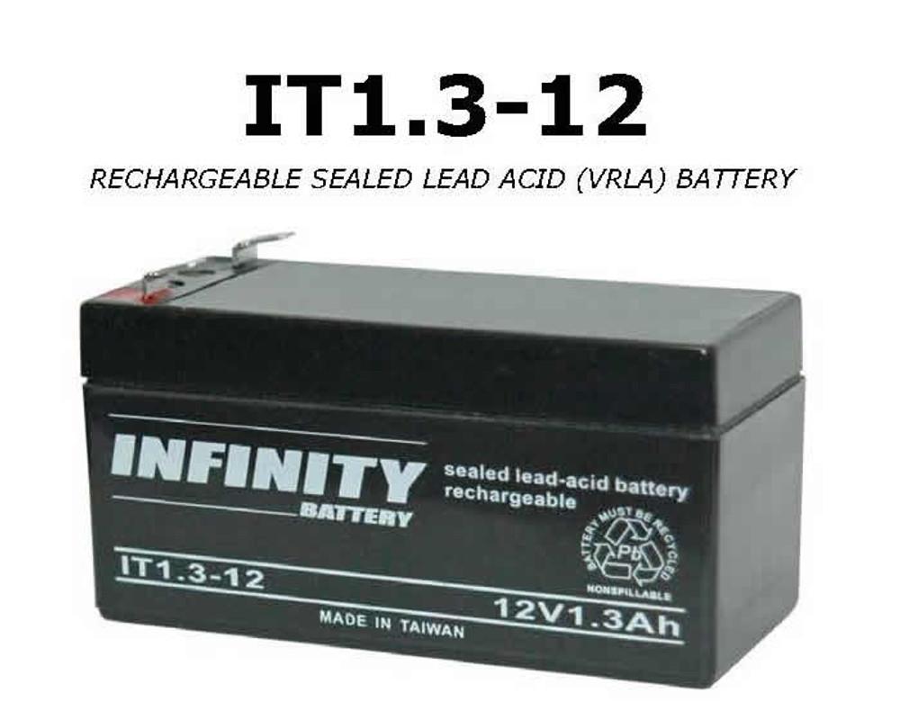 IT 1.3-12 F1 - GS Infinity 12volt - 1.3Ah - F1