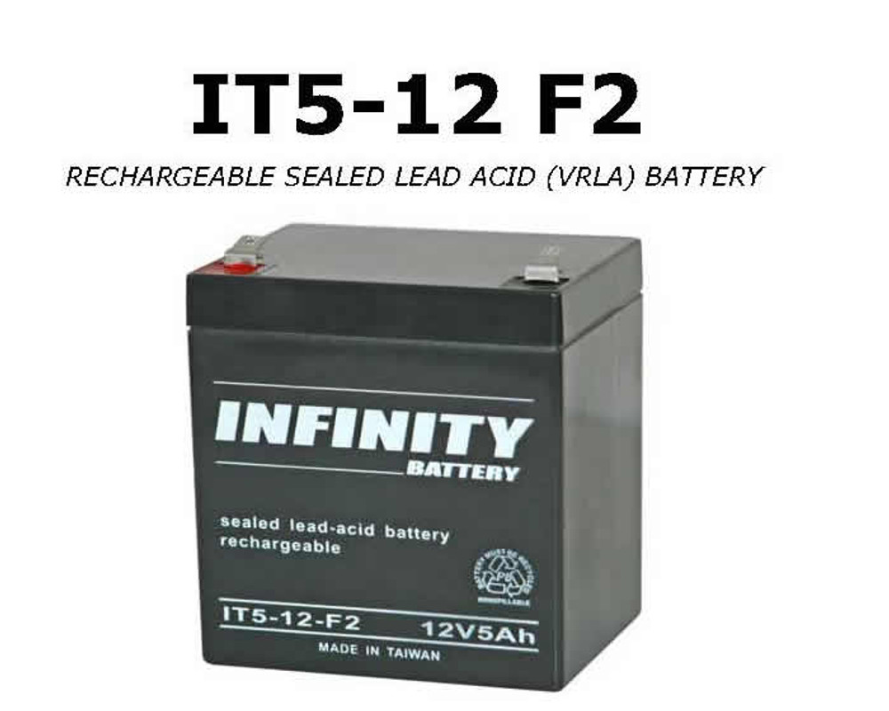 IT 5-12 F2 - GS Infinity 12volt - 5Ah - F2