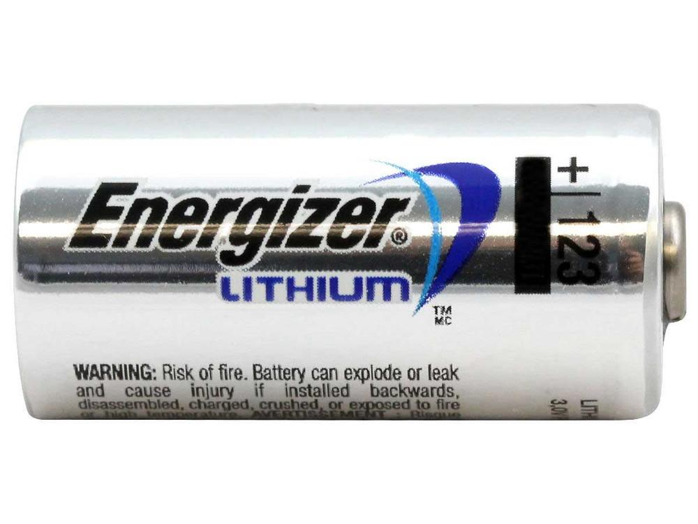 CR123A-EN - Energizer Lithium 3V 1500mAh  (1-pc bulk)