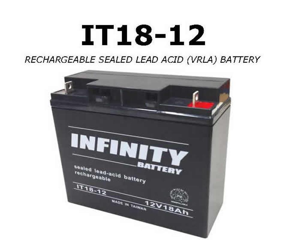 GS Infinity - IT 18-12 NB - 12volt - 18Ah - NB