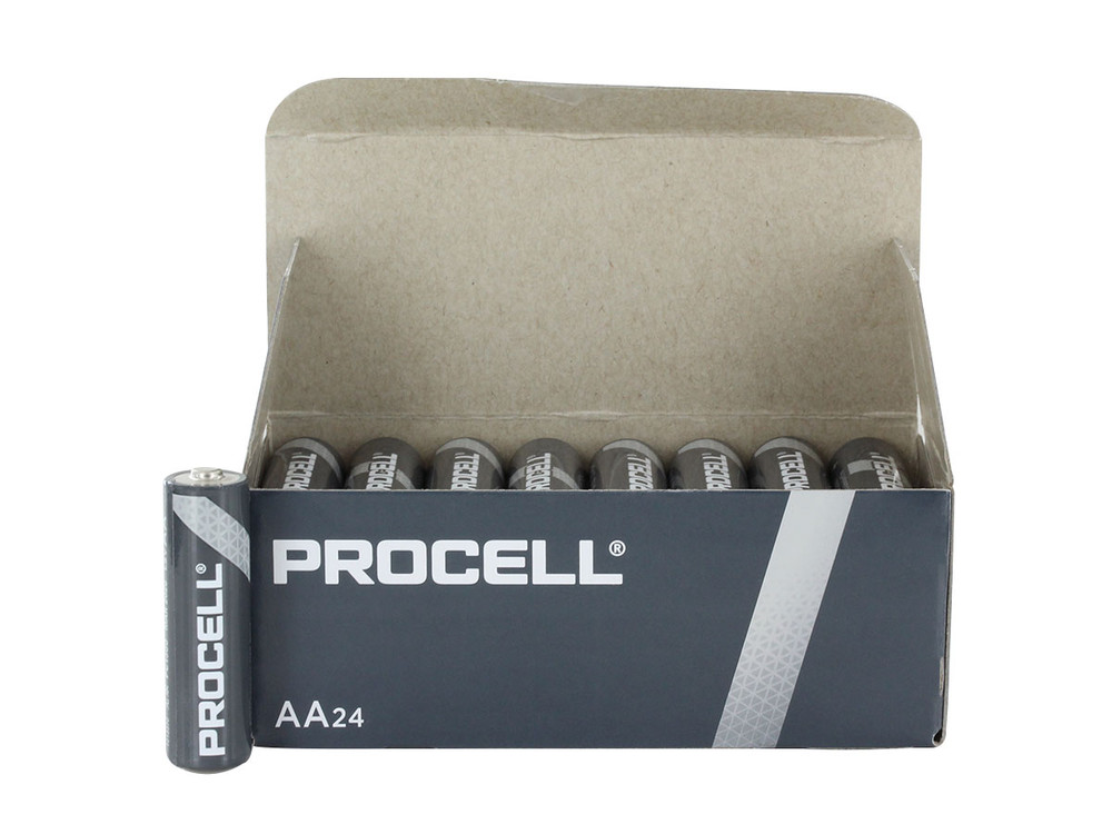 PC1500 - Duracell Procell Alkaline AA (24/box)