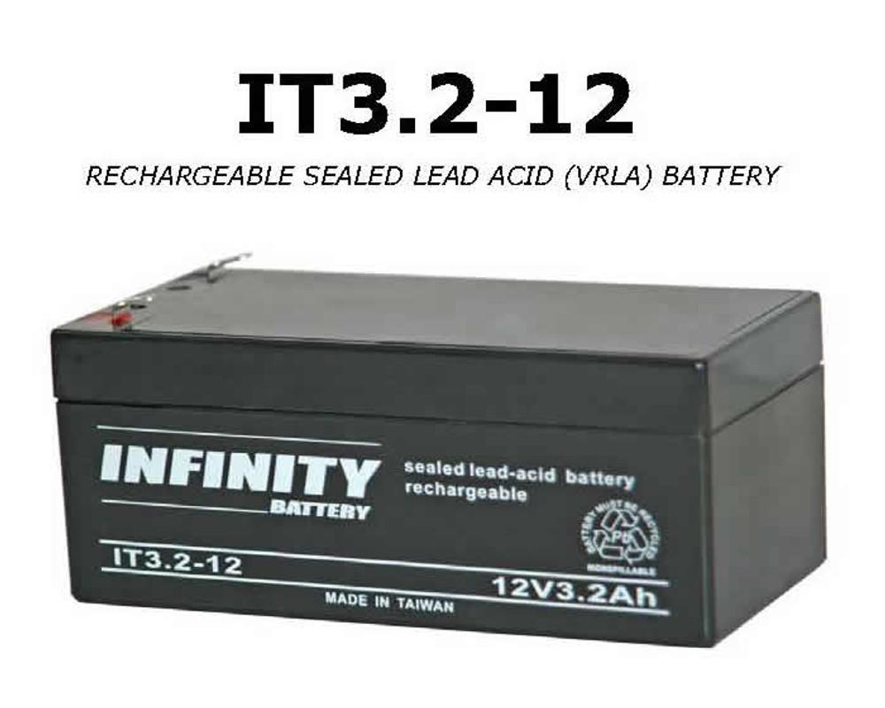 IT 3.2-12 F1 - GS Infinity 12volt - 3.2Ah - F1