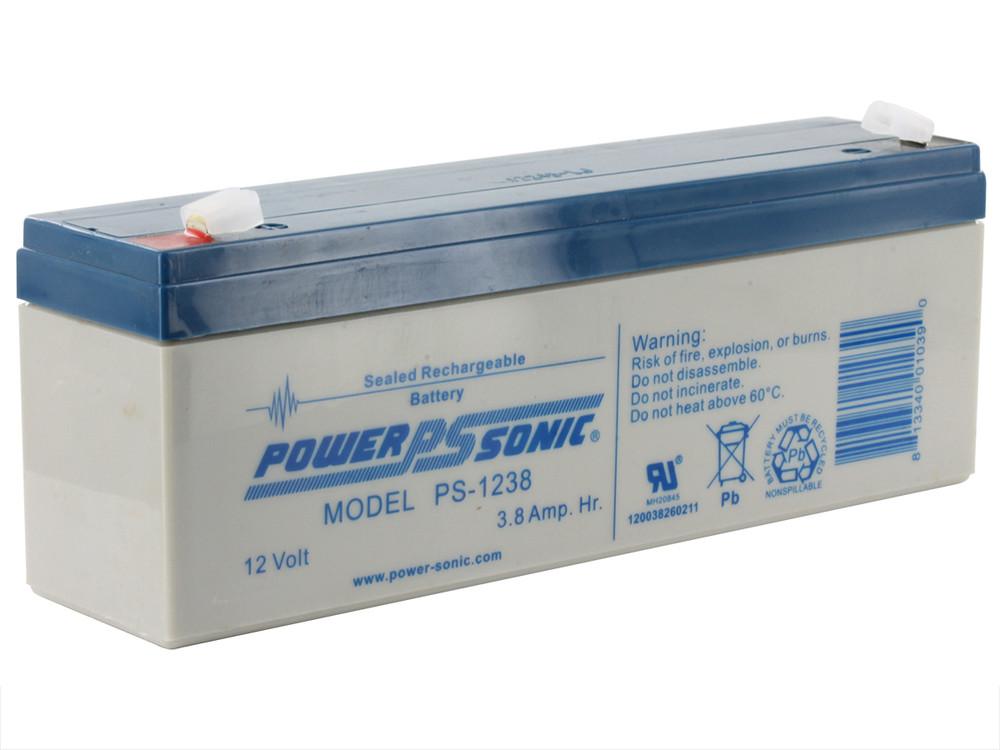 PS-1238 - Powersonic 12 volt - 3.8Ah - F1