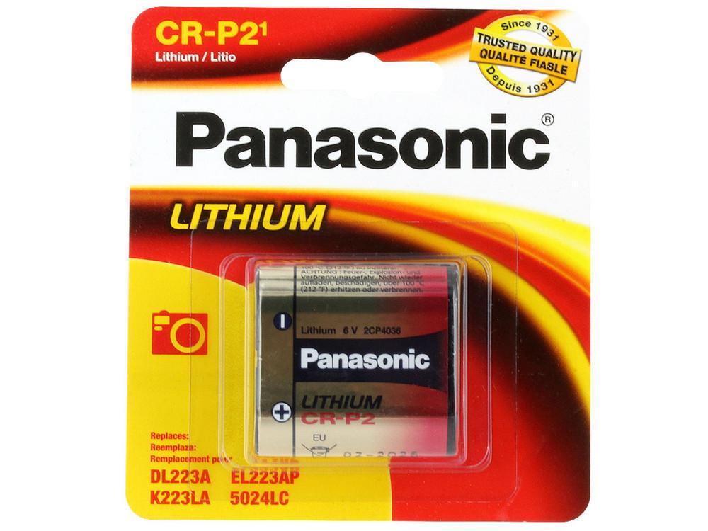 CRP2-PC - Panasonic CR-P2 - Lithium 6V (1-pack)