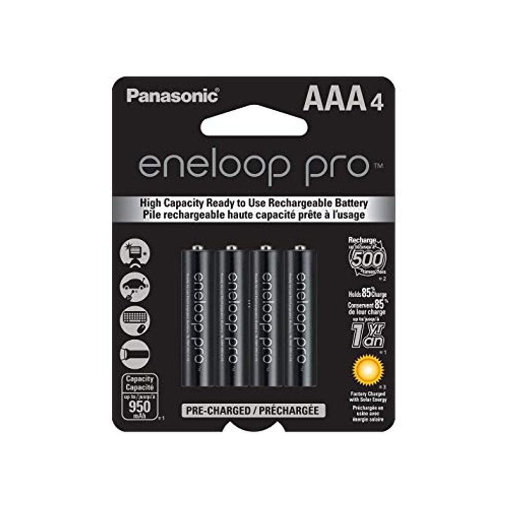 BK-4HCCA4BA - Panasonic Eneloop Pro Low Discharge AAA 950mA, 4pk