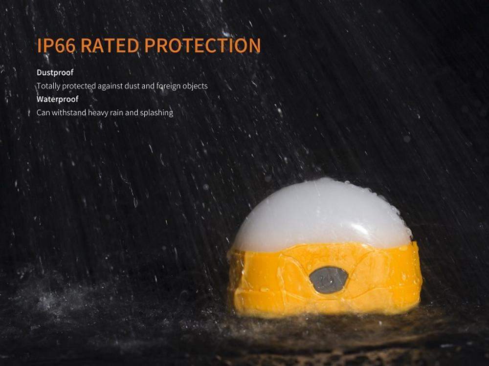 CL20R-O(Orange) - Fenix CL20R Rechargeable LED Camping Lantern