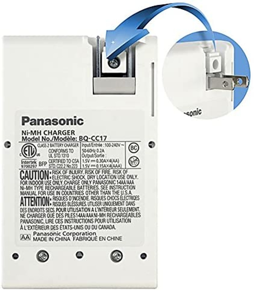 K-KJ17MCC82FA4BA - Panasonic Eneloop Charger Kit