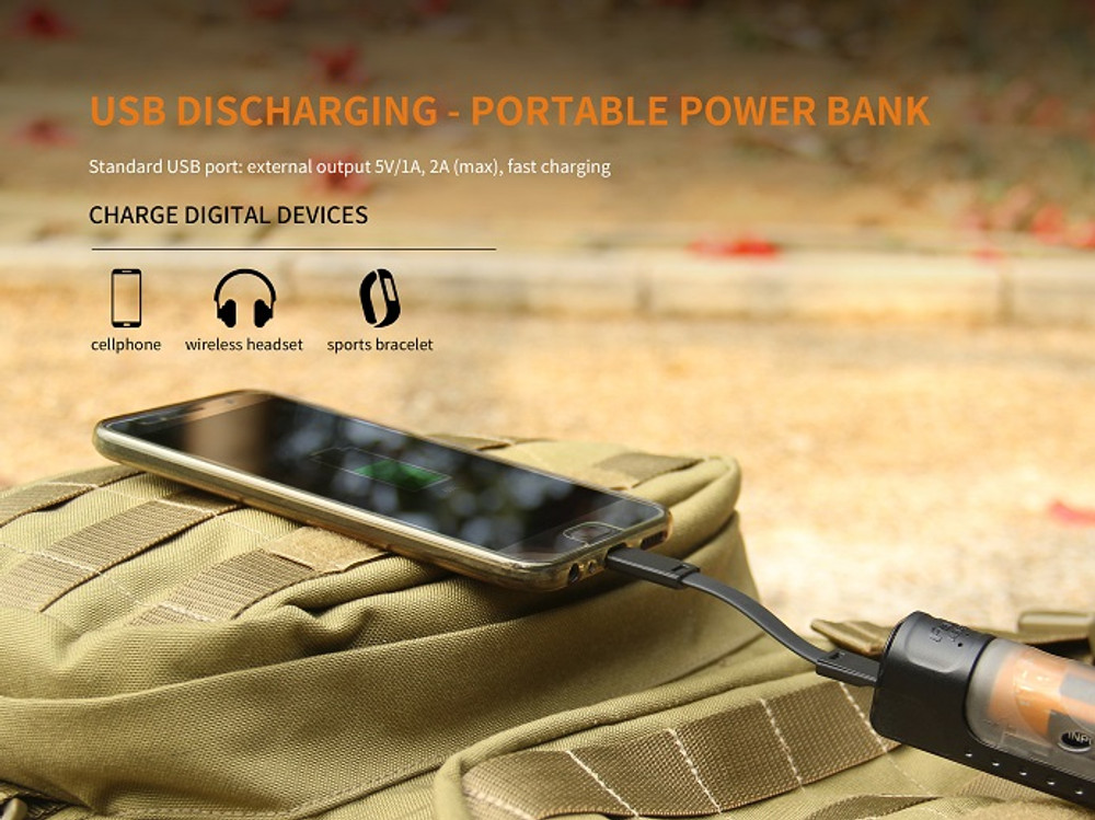 ARE-X11 - Fenix  Charging Kit w/ 18650 Battery