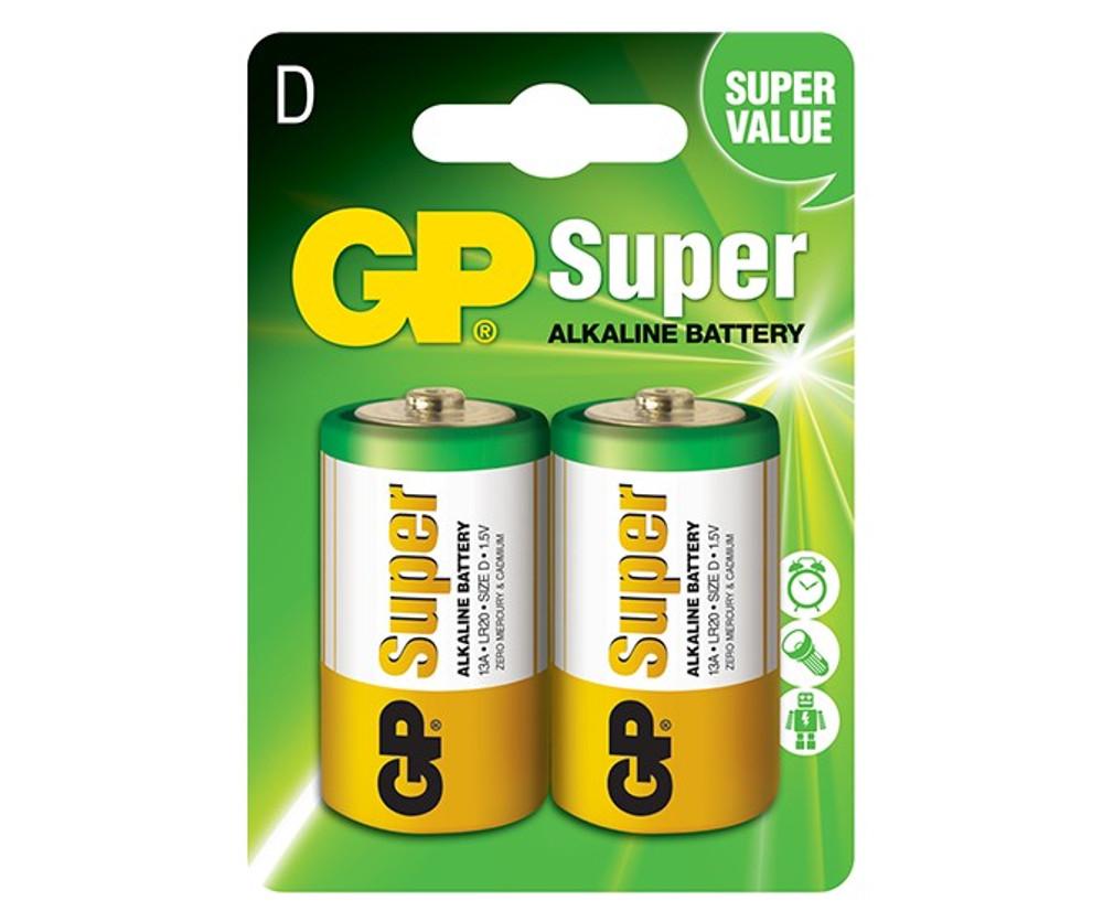 GP13A-C2 - GP Super D Alkaline (2 pack)