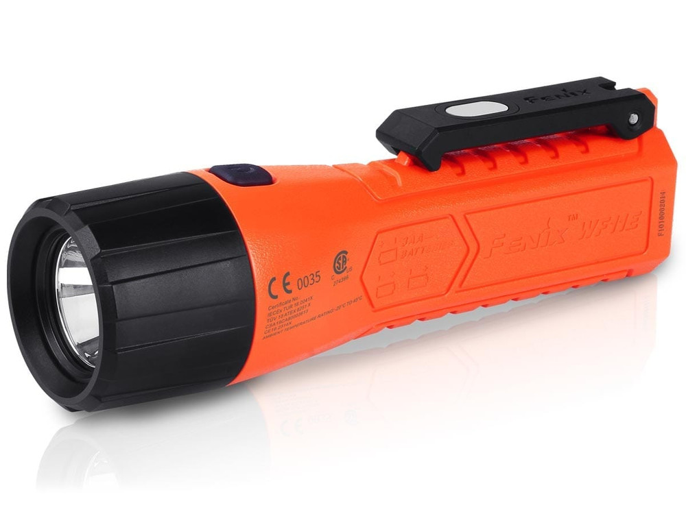 Fenix WF11E - Magnetic Intrinsically Safe Flashlight. (200 Lumens)