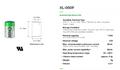 XL-050F - Xeno - Lithium 1/2AA - 3.6volt 1.2Ah