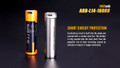ARB-L14-1600U [14500/AA] - Fenix Micro USB Rechargeable Battery - Li-ion 1.5V 1600mAh