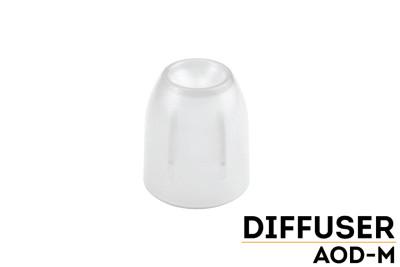 AOD-M - Fenix Diffuser Tip (Transparent - 34-40mm)