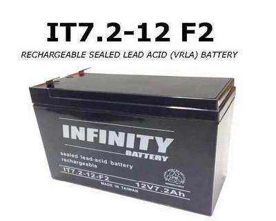 IT 7.2-12 F2 - GS Infinity 12volt - 7.2Ah - F2