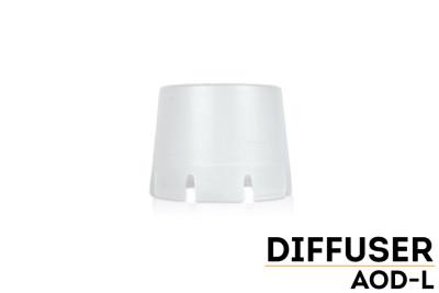 AOD-L - Fenix Diffuser Tip (Transparent - 63mm)
