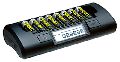 Maha - MH-C801D Eight Bank 1-Hour Charger for AA/AAA