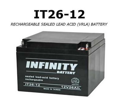 IT 26-12 NB - GS Infinity 12volt - 26Ah - NB