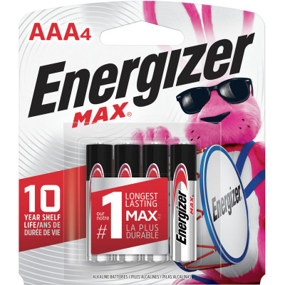 E92BP4 - Energizer Max AAA (4 pack)