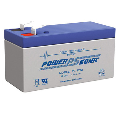 PS1212-F1 - (Powersonic - 12 Volt - 1.4Ah - F1)
