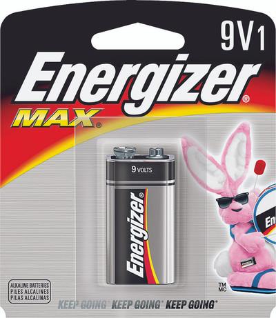 522BP1 - Energizer Max 9 Volt Alkaline (1 pack)