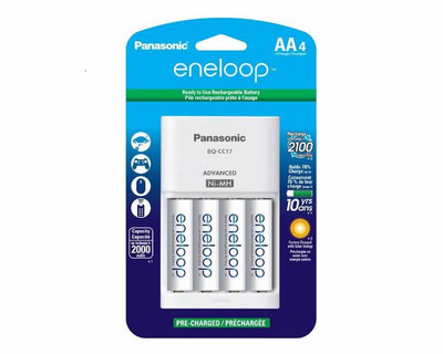 K-KJ17MCA4BA - Panasonic Eneloop Charger Kit