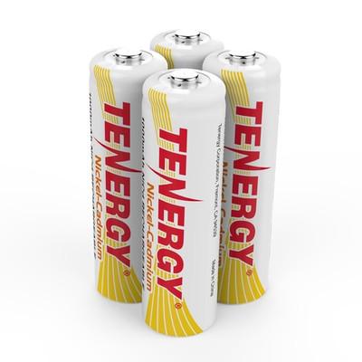Tenergy TE-4AA-21045  -  NiCd AA 1000mA (4-pack)