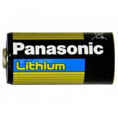 CR123A - Panasonic CR123A - Lithium 3V 1400mAh - bulk 20 box
