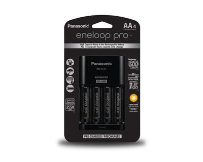 K-KJ17KHCA4A - Panasonic Eneloop Pro Charger Kit