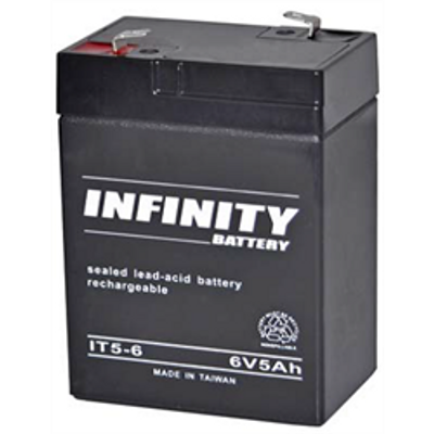 GS Infinity - IT 5-6 F1 - 6volt - 5Ah - F1
