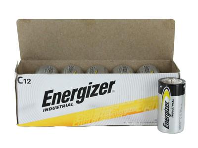 EN93 - Energizer Industrial Alkaline C (12/box)