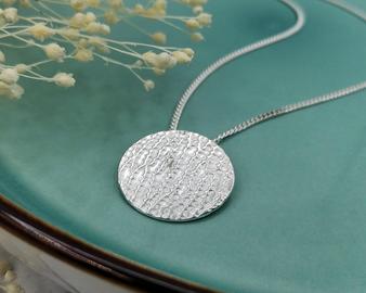 Silver Coast Necklace