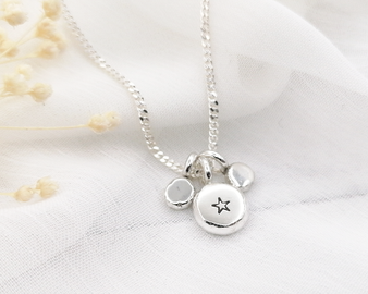 Star Nugget  Necklace