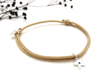 Star Charm Friendship Bracelet