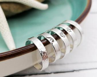 POTM - Silver Band Toe Ring