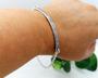 Silver Dainty Flora Bracelet