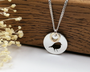 Robin Silver & Gold Necklace