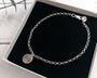 Say It With Flowers... Silver Floral Bracelet