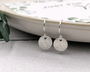 Say It With Flowers... Silver Floral Earrings