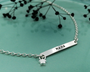 Personalised Silver ID Necklace